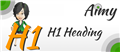 Aimy H1 Heading, by Aimy Extensions - Joomla Extension Directory